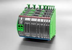 Murrelektronik Mico Pro kontaktivaba toitvoolu juhtimise ja monitoorimise süsteem
